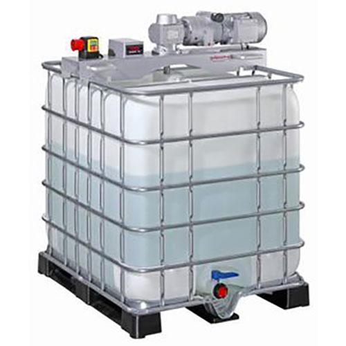 AGITATORI e MISCELATORI Miscelatore per container