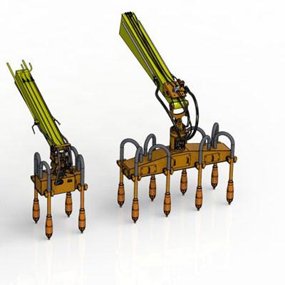NHR e NVI vibratori compattamento cemento
